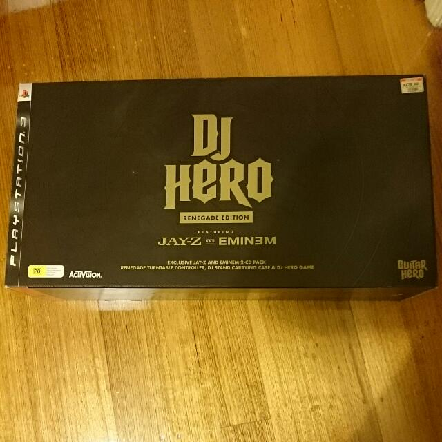 DJ Hero Renegade Edition Ps3 PlayStation 3