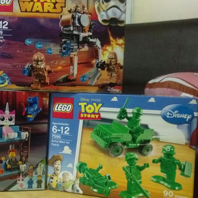 Lego 樂高 7595.75089.70818     三盒一起賣