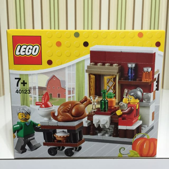 Lego Halloween Set 2015/Lego Thanksgiving Set 2015 + Lego D2C Minifig Retro  Set