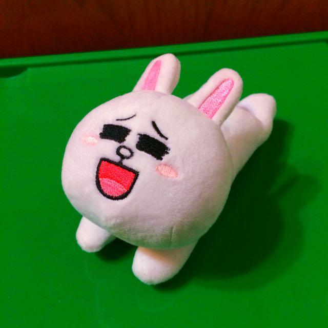 📦LINE兔兔造型伸縮卡片夾