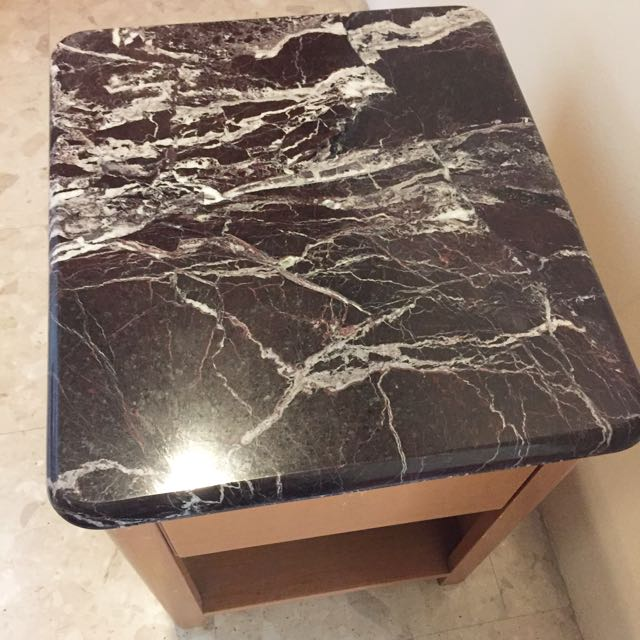 Luxury Marble Side Table (Pair)