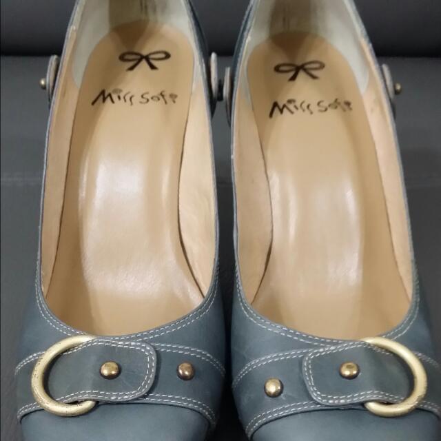 Miss Sofi圓頭娃娃高跟鞋