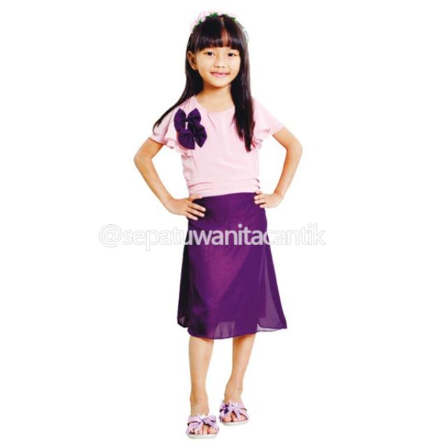 Model Baju Dress Anak Perempuan Baju Blouse Anak Pakaian Anak Branded  Terbaru Lucu Murah GRNS601 Untuk Usia 6 4a55023aaa