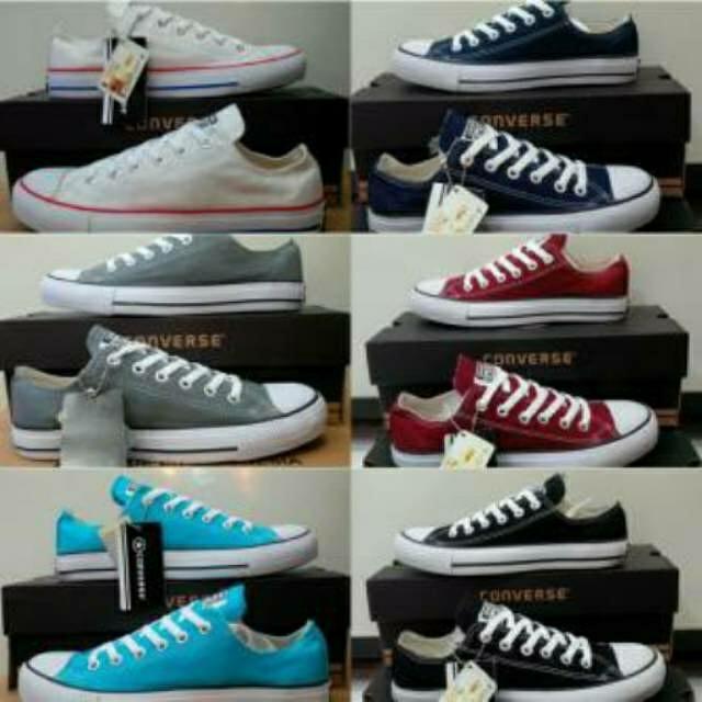 Sepatu Converse All Star Unisex Sneakers 911ced96b0