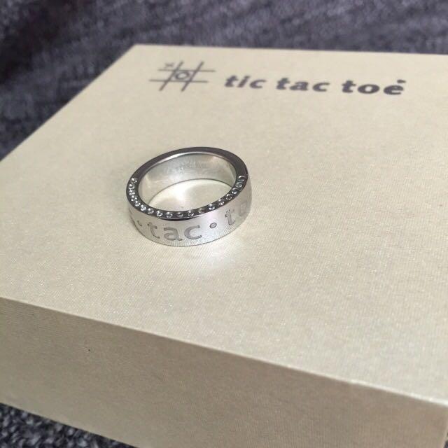 Tic Tac Toe 經典戒指