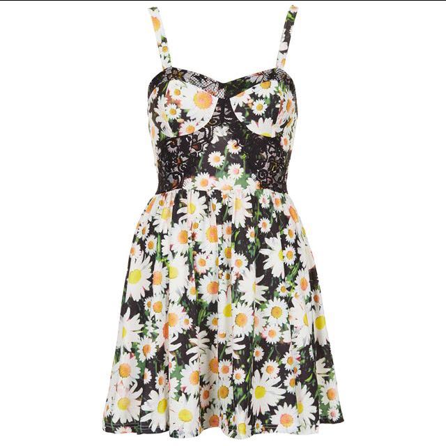 (TRADES ONLY) TOPSHOP DAISY CORSET DRESS