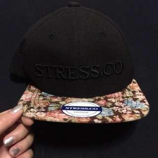 潮牌stress.co帽子