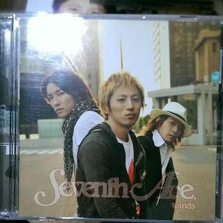 (保留中)[二手]w-inds. Seventh Ave.雙碟版(CD+DVD)
