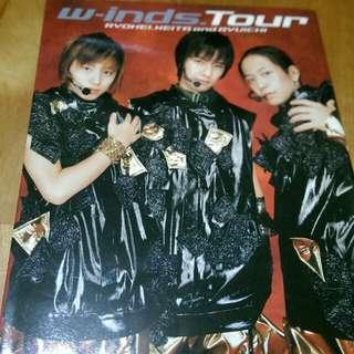 [二手]w-inds.Tour 2004年寫真書 迷你寫真附。