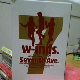 [二手]w-inds.Livr Tour 2008 Seventh Ave.DVD
