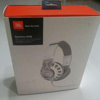 BNIB: JBL Synchros S700 Premium Headphone W Mic/Remote (White Only)