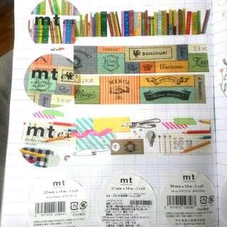 mt 裁縫材料 紙膠帶分裝
