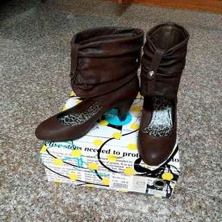 全新👠AS低根短靴