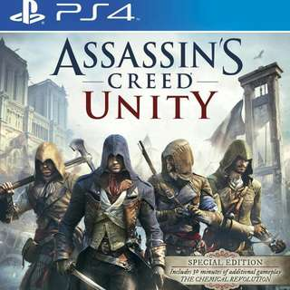 Assasin Creed Unity PS4