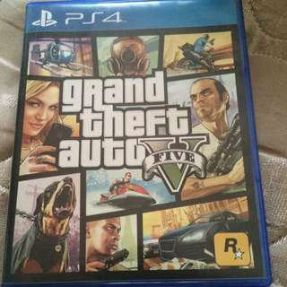 Gta5 Ps4 Game Used