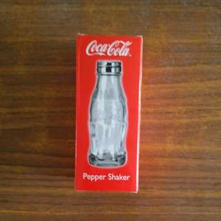 Coca Cola Pepper Shaker