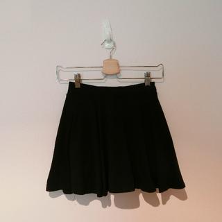 [二手] 全黑短褲裙