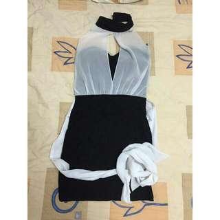 黑色造型小禮服