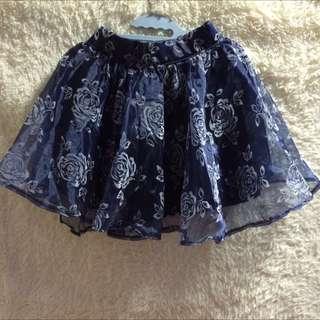 Floral Printing Skirt
