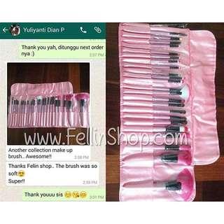 24pcs makeup brush set
