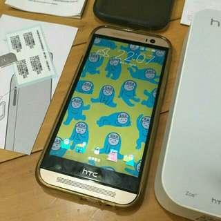 (待面交)📱便宜賣 HTC M8 手機 16G 金色