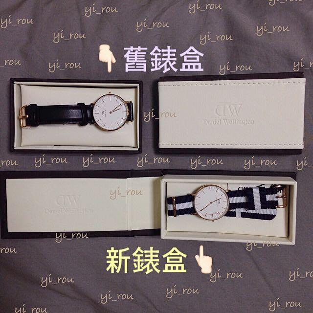 「正品實拍」新舊錶盒都好有質感!