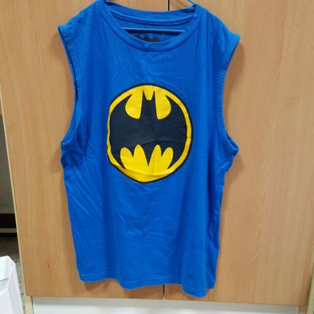蝙蝠俠無袖上衣