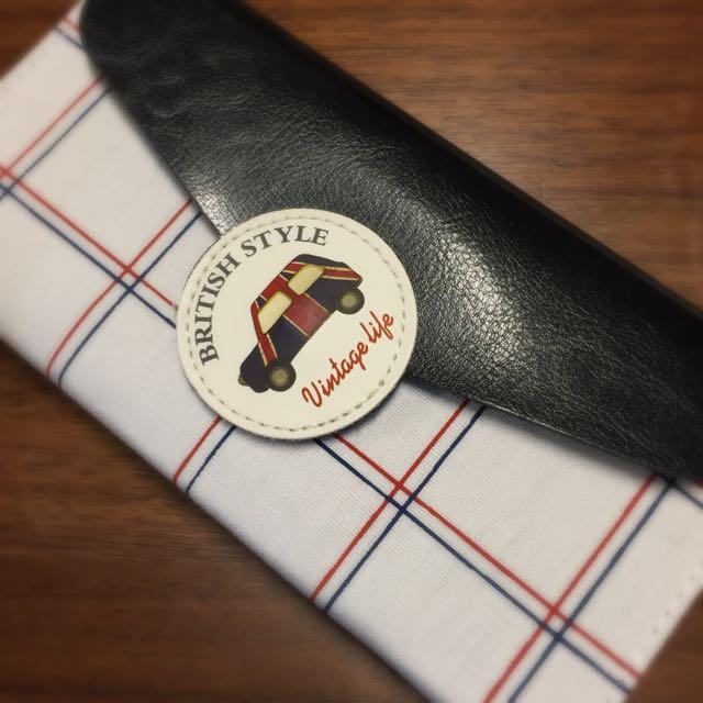 英國倫敦黑頭車帆布筆記本