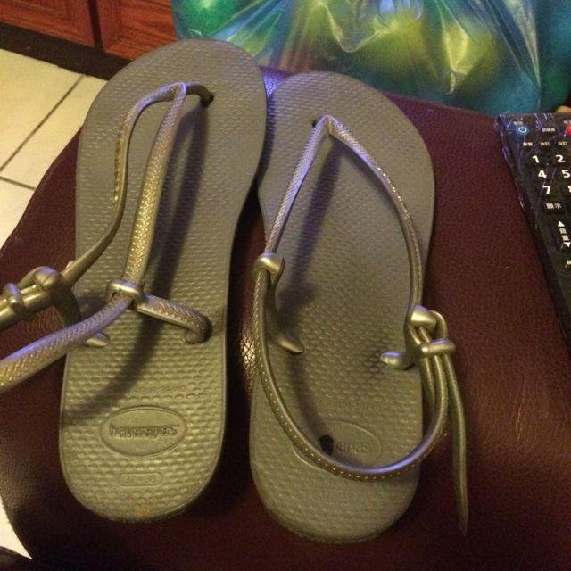哈瓦士 涼鞋38