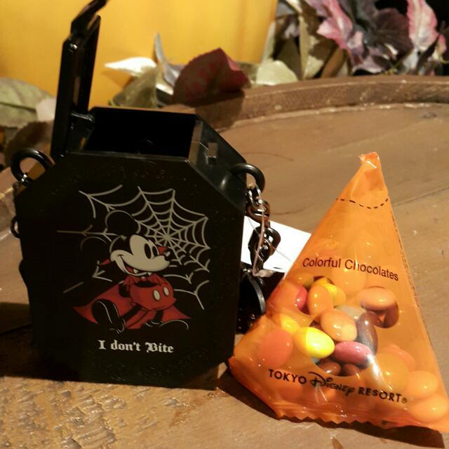 #迪士尼#萬聖節 米奇糖果罐