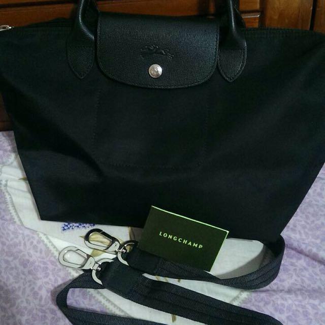 正品 Longchamp Le Pliage NEO 短把 s號 黑色(售出