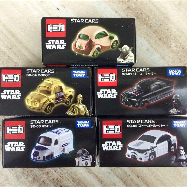 星際大戰 Start Wars tomica トミか 多美 小汽車組 經典人物 兒童 收藏 宅配含運