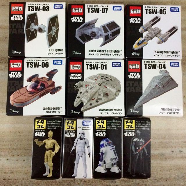 星際大戰 Start Wars Tomica トミか 經典人物 模型 載具 武士 飛行器 收藏 宅配含運