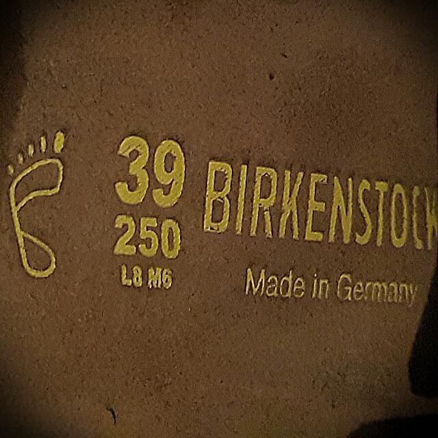 😈德國勃肯BIRKENSTOCK真皮包鞋39碼