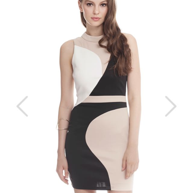 BNWT TCL Premium Mia Colorblock Dress in XS