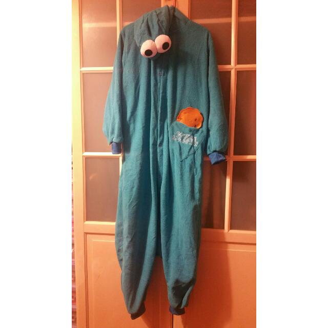 Cookie Monster Halloween Onesie Suit Costume Unisex Everything Else on Carousell  sc 1 st  Carousell & Cookie Monster Halloween Onesie Suit Costume Unisex Everything Else ...