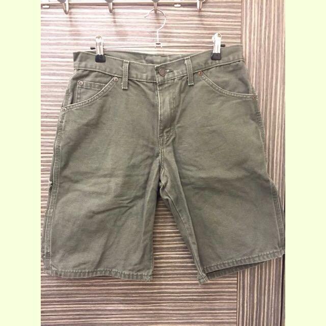 美國購入dickies墨綠短褲