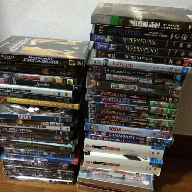 DVDs And TV Seasons