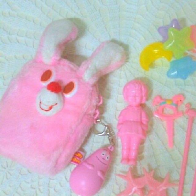 徵!gladee粉色兔子包