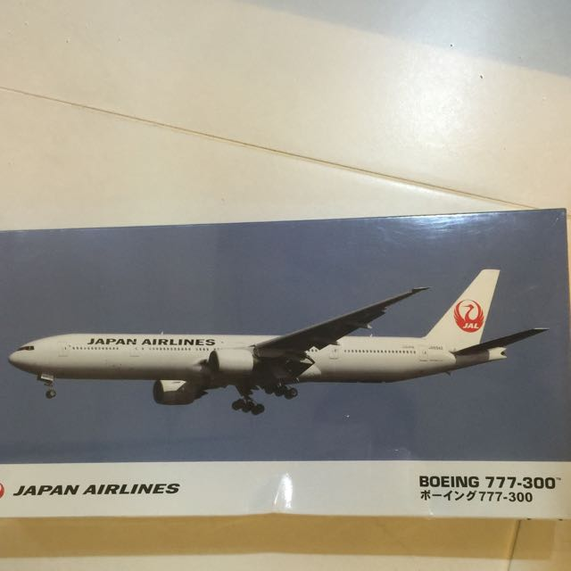 Hasegawa 1/200 Scale Boeing 777-300 Unbuilt Model Kit With