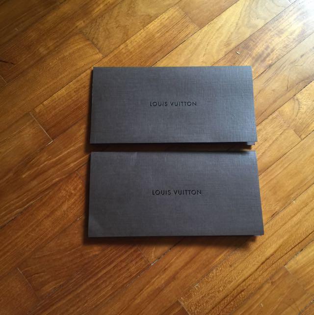 Louis Vuitton LV paper receipt holder