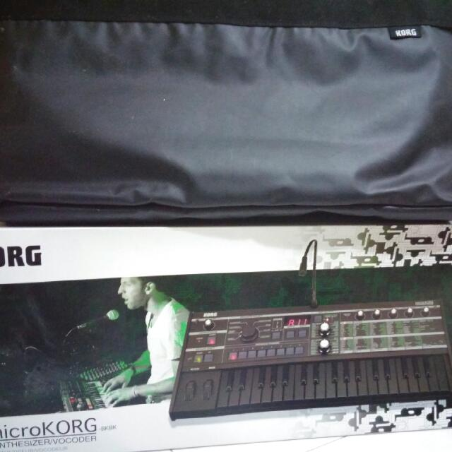Microkorg Vocoder + Korg Bag, Music & Media on Carousell