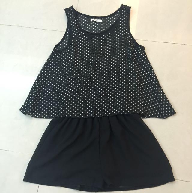 OZOC二件式褲裙