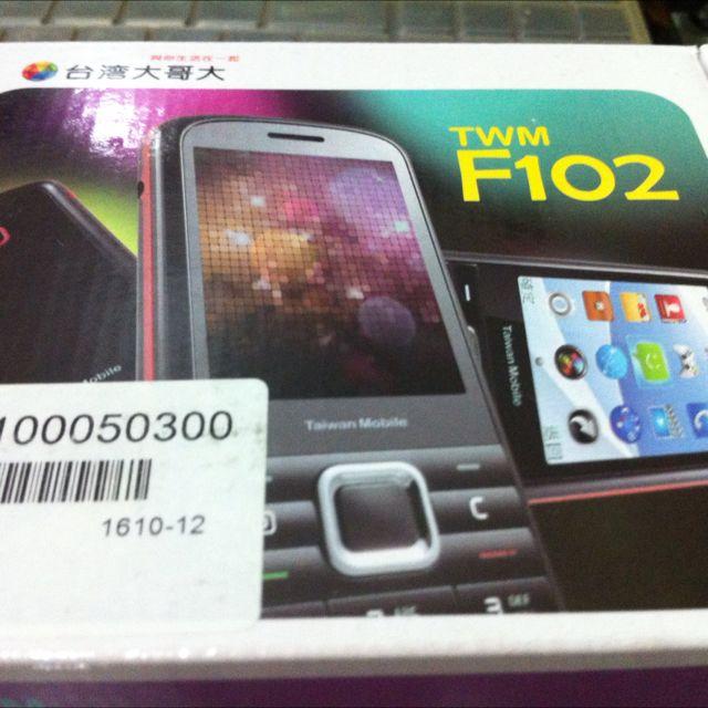 TWM F102 3G直立手機 老人機
