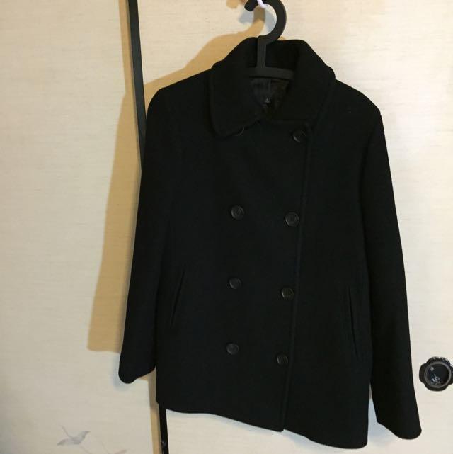 Uniqlo 學院風大衣(XL)