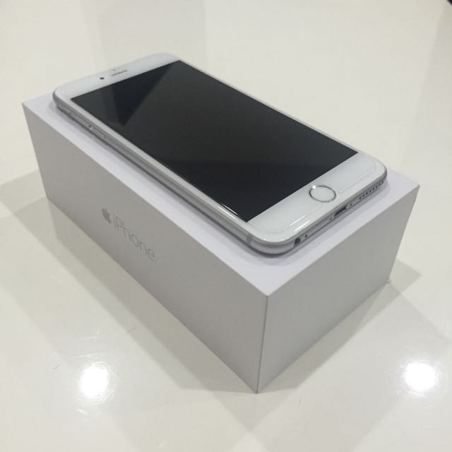 WTS iPhone 6 PLUS 128 GB Silver