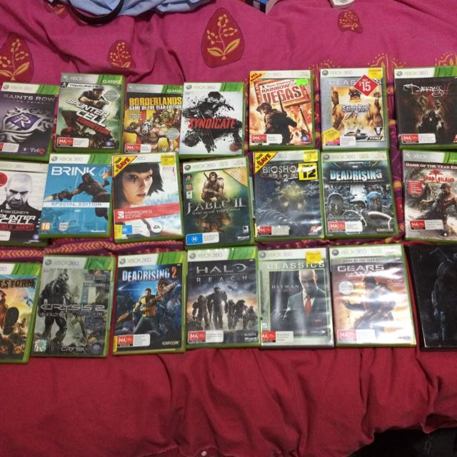 Xbox 360 Games Original $10 Each