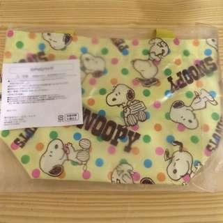 全新Snoopy手提袋~日本帶回