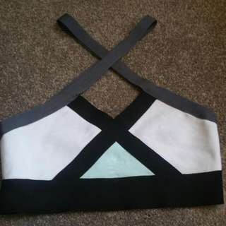 Cross Back Crop