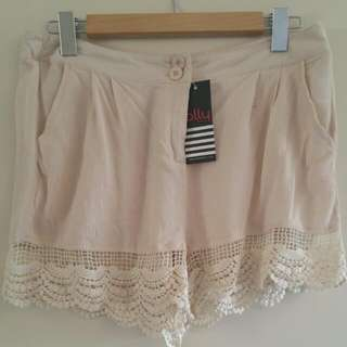Brand New With Tag Ally Shorts